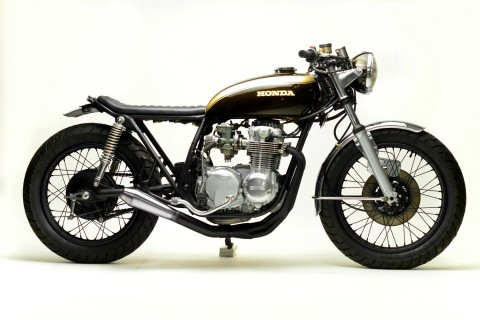 1977 CB550 J.O by Steel Bent Customs
