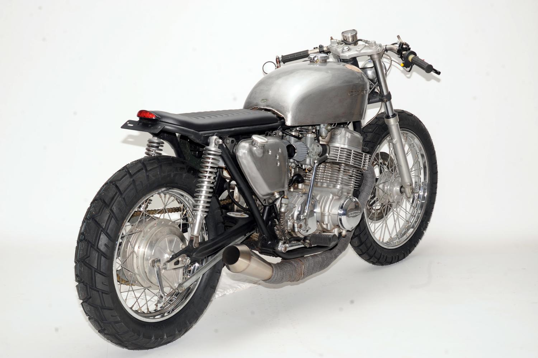 1971 CB750 Brat by Steel Bent Customs