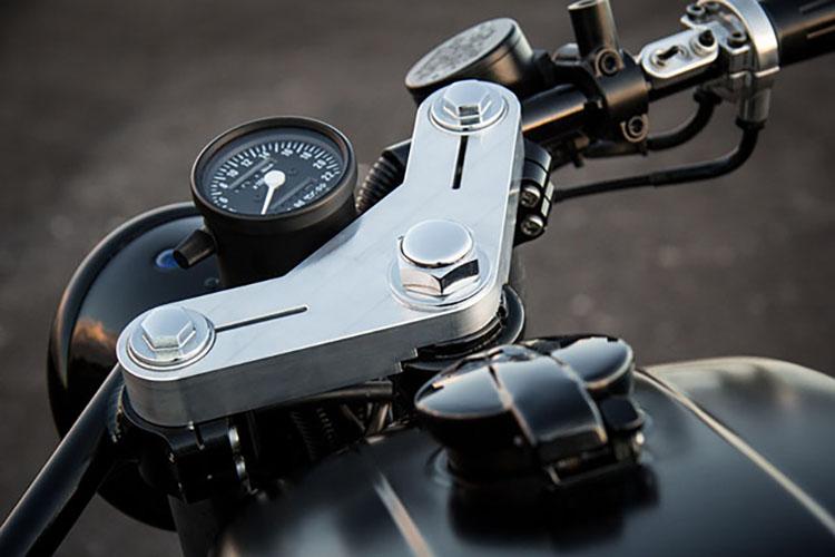 1978 Honda CB400F Brat by Salty Speed Co.