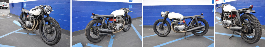 CB550 Dirty Build by Brady Young