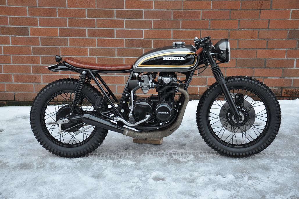 CB550 Build By Jarred DeArmes