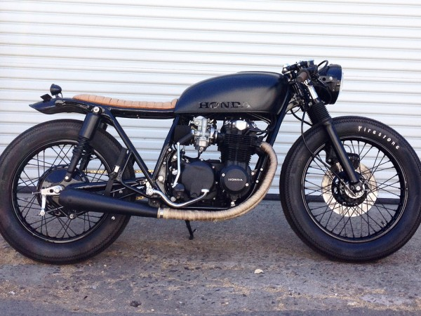 Black and Tan CB550 by Seaweed & Gravel