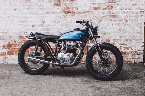 Honda CB360 Brat by Salty Speed Co