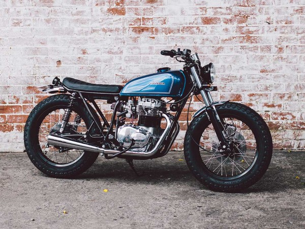1975 Honda CB360 Brat by Salty Speed Co.