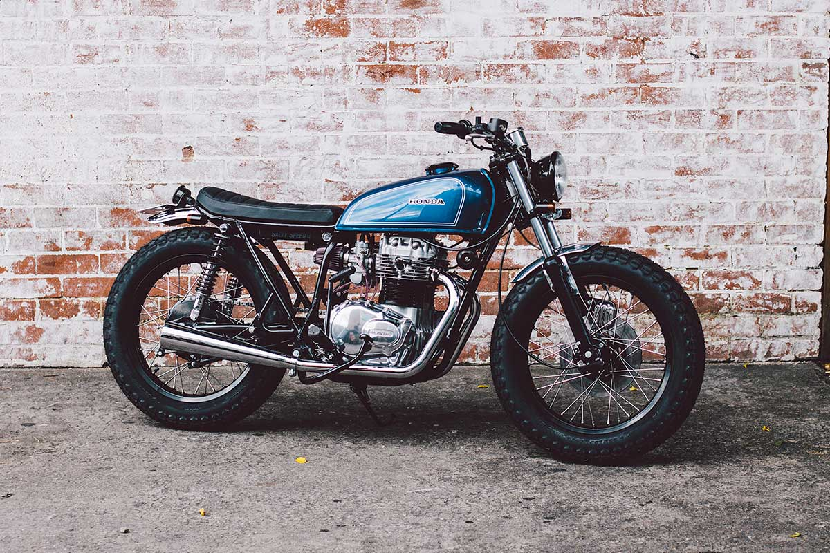 1975 Honda CB360 t by Salty Speed Co. - Honda ts