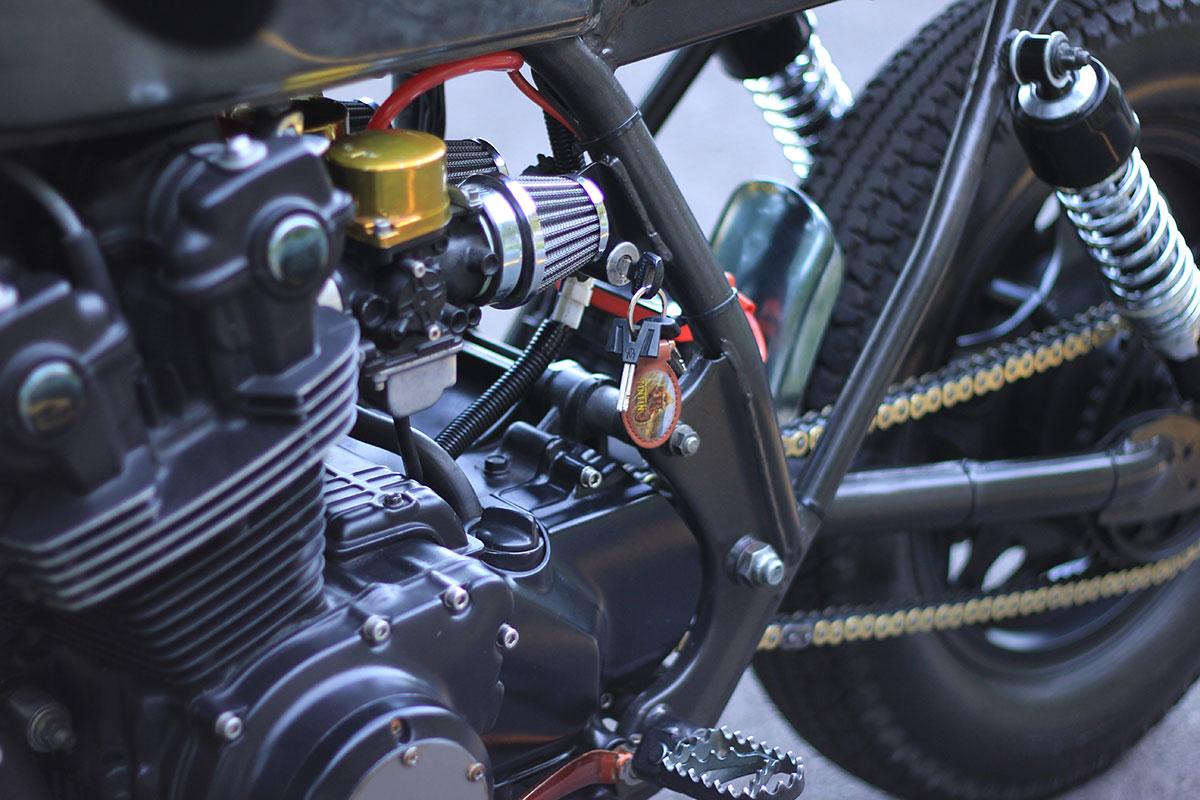 1980 Honda CB750 Tin Tin by Metalhead MC