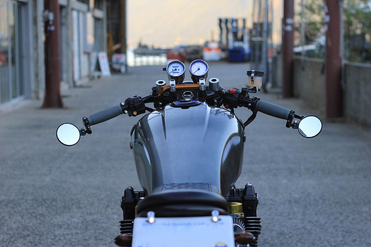 Build by Mike Pajak at Metalhead Motorcycle Club inBrackendale, Canada.