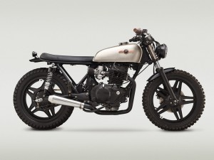 1981 Honda CB400T Surf Hawk by Classified Moto