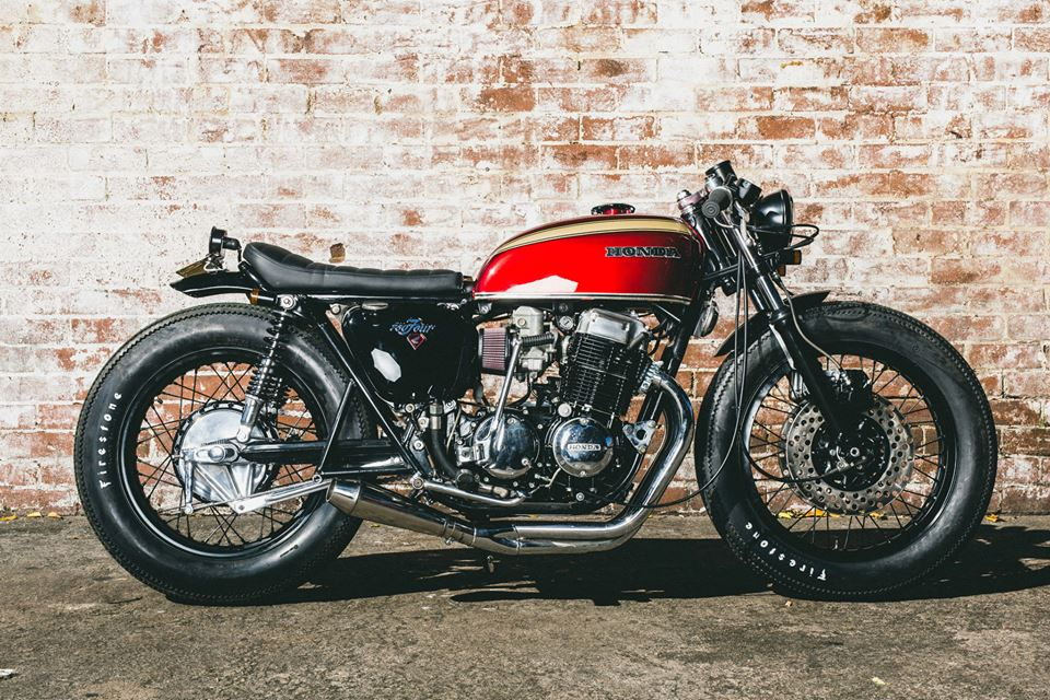 CB750 By Salty Speed Co