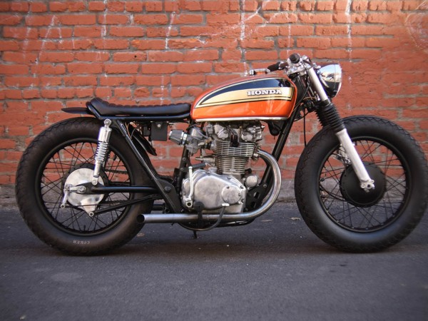 "1974 Honda CB450 ""Rusty"" by Holiday Customs"