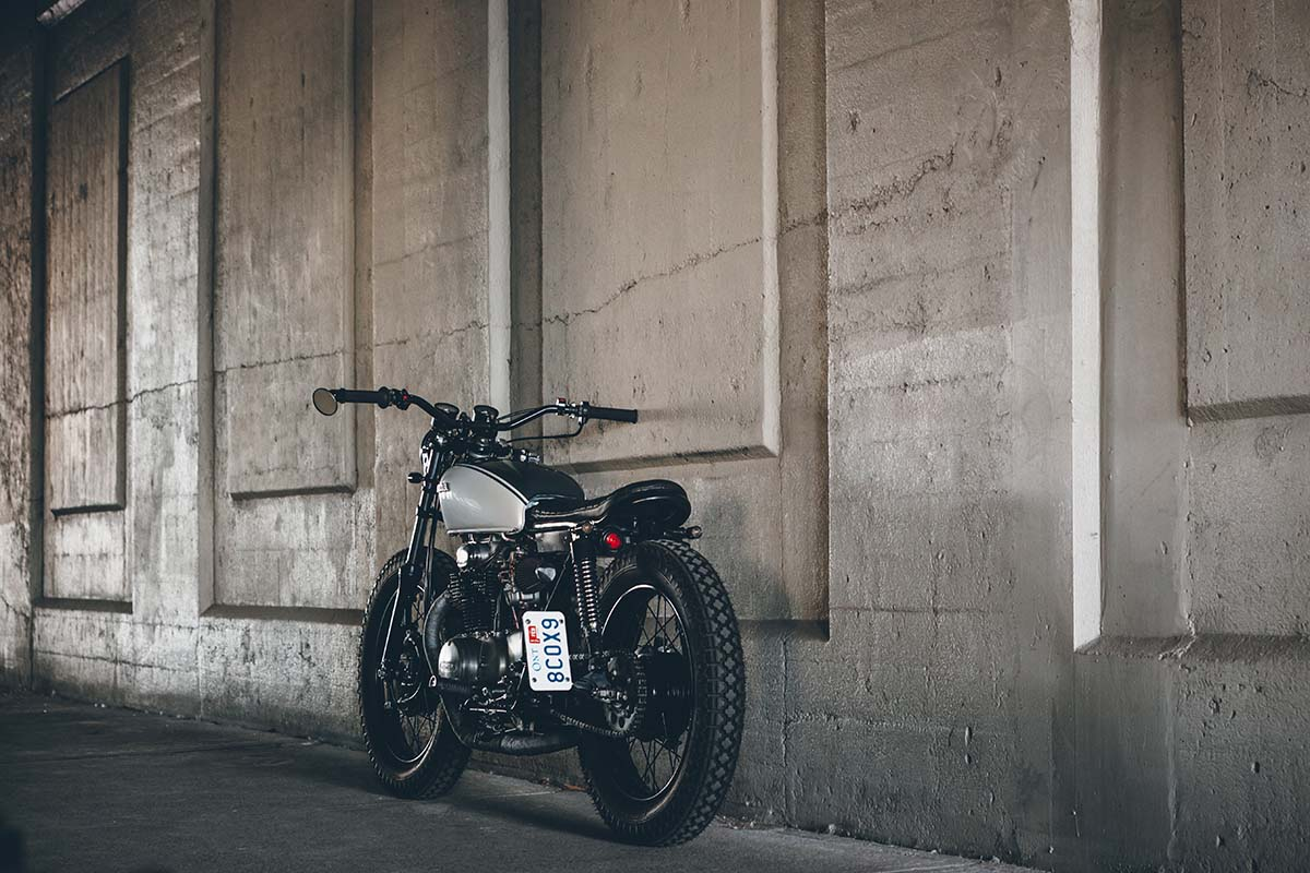 72 CB350 MaggieMay by Alex Burrows