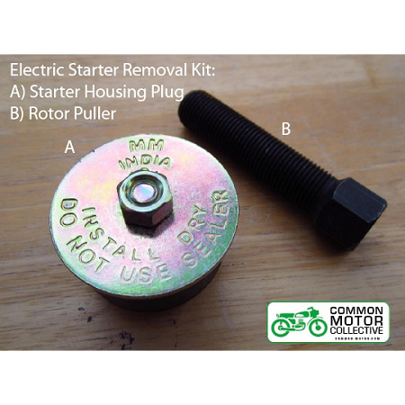 CMC Electric Starter Removal Kit